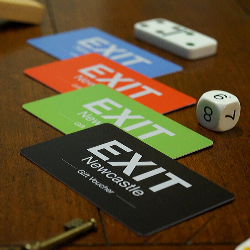 EXIT Newcastle Gift Vouchers