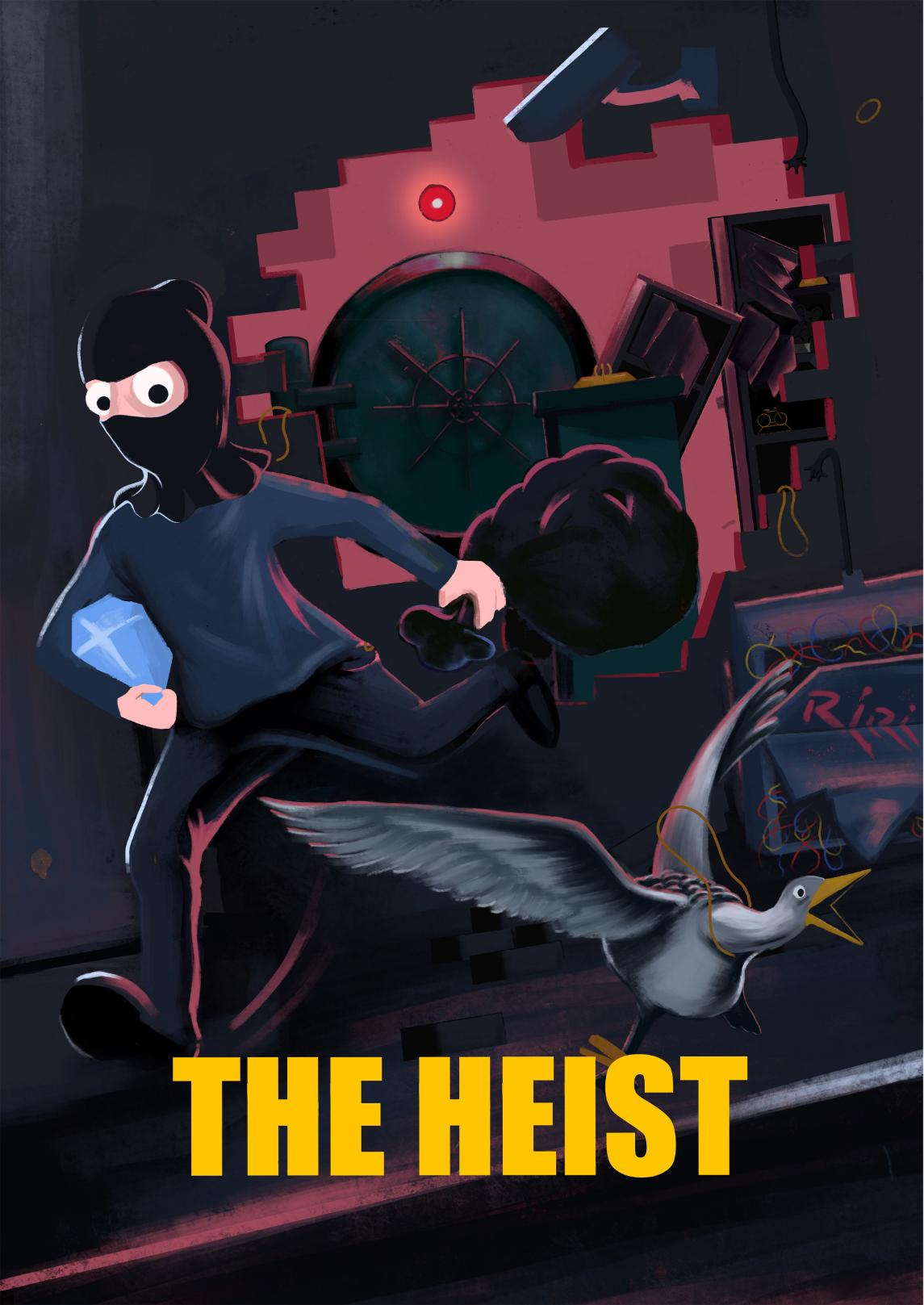 The Heist Escape Room Poster