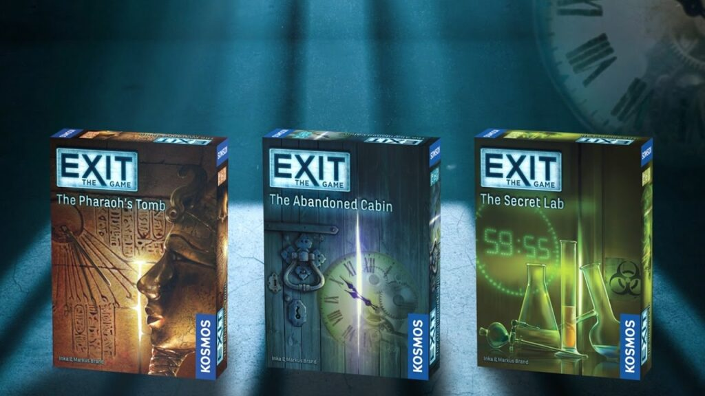 EXIT the game, escape room board games