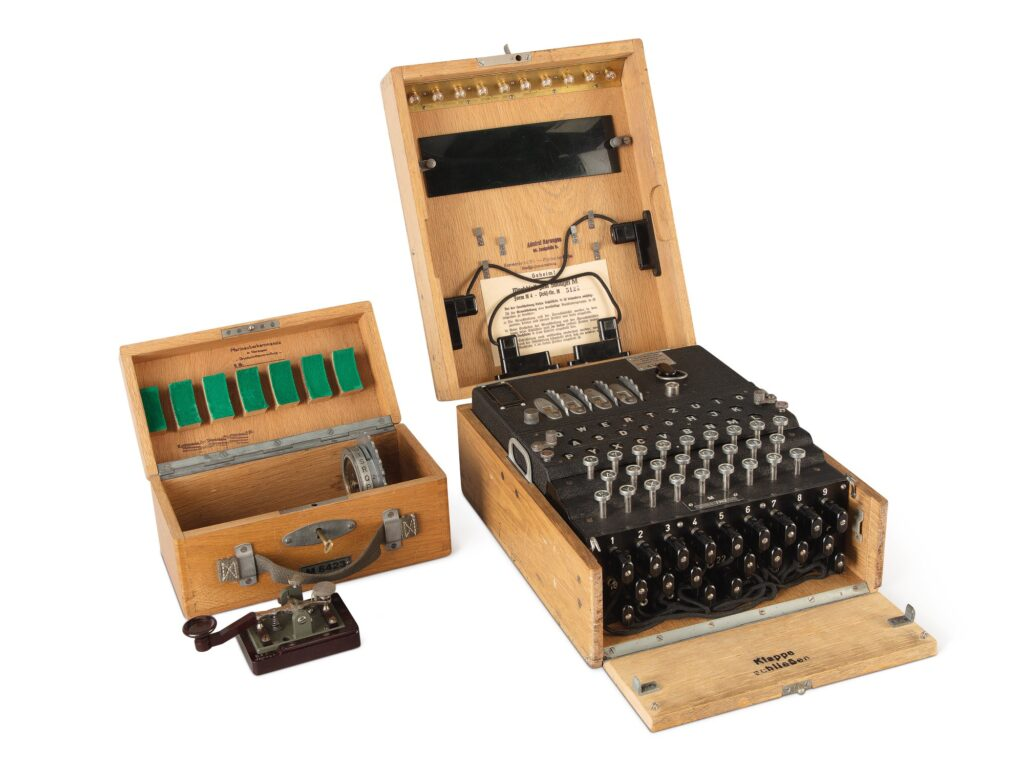 An Enigma machine sold by Sotheby's in 2019