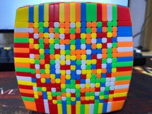 A 19 x 19 Rubik's Cube